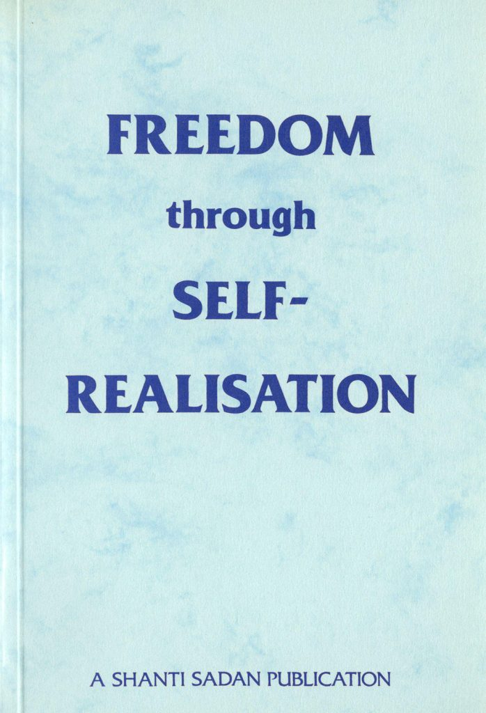 Cover of Freedom through Self-Realisation