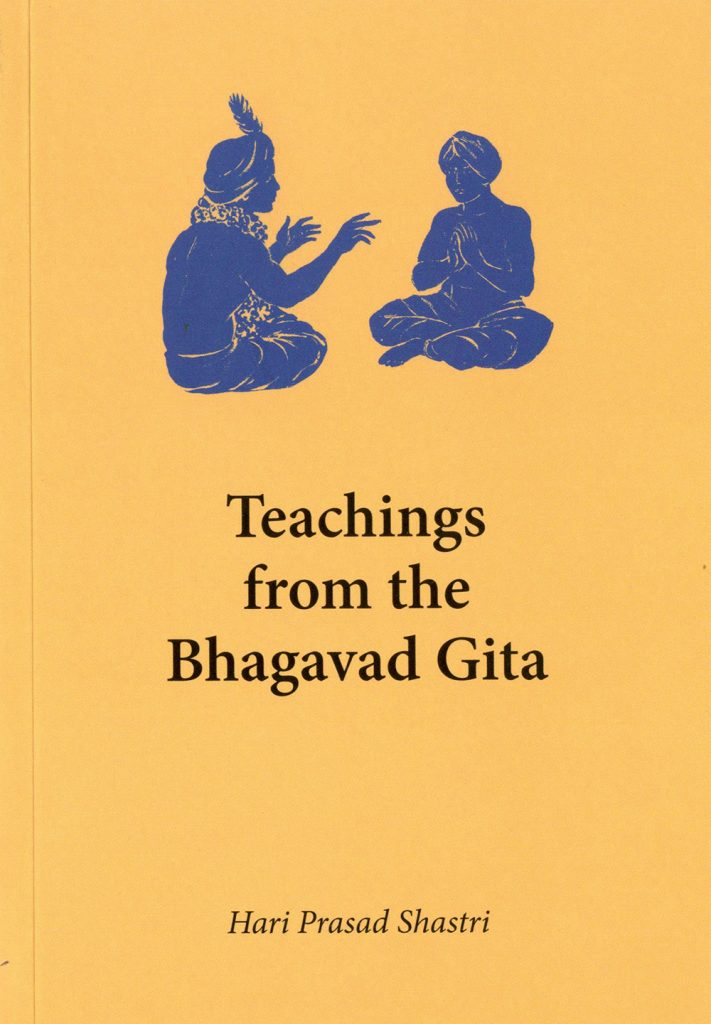 Cover of Teachings from the Bhagavad Gita