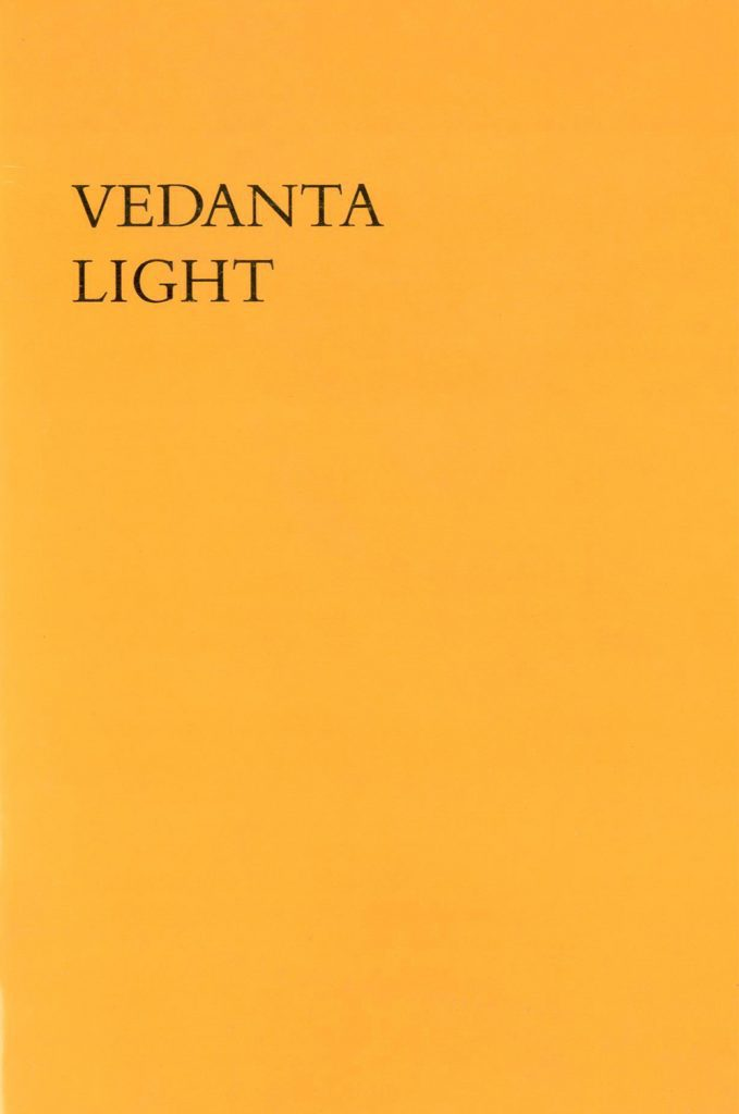 Cover of Vedanta Light
