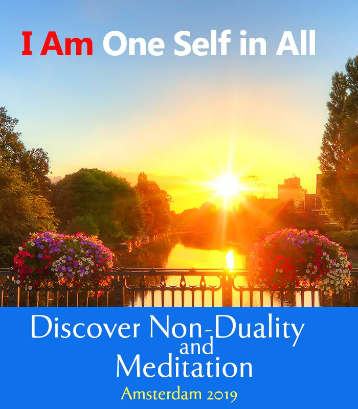 non-duality and meditation event
