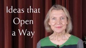 A talk on ideas that open a way